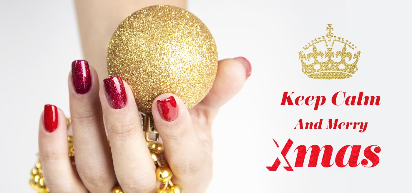 Keel calm e… buona nail art natalizia a tutte!
