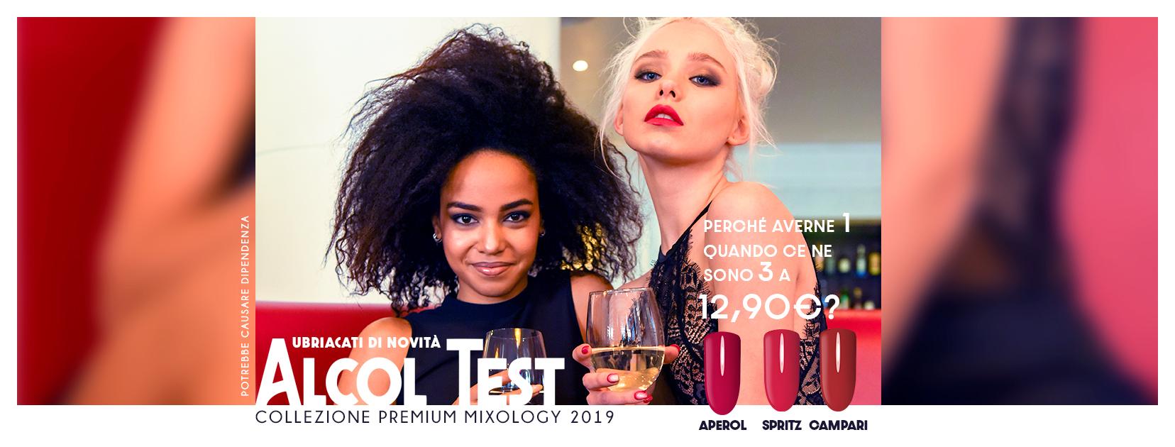 Come è nata la collezione ALCOL TEST